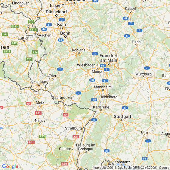 Gay Kaiserslautern map - Gay hotels,