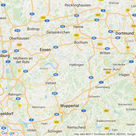Bochum Düsseldorf Entfernung